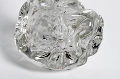 Hand Blown Glass Imprints of Indian Print Block Vase - 855839
