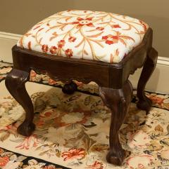 Hand Carved Walnut Ball and Claw Stool Portugal circa 1800 - 999042