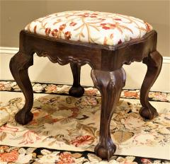Hand Carved Walnut Ball and Claw Stool Portugal circa 1800 - 999045