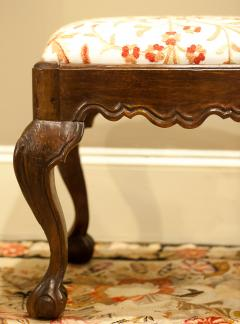 Hand Carved Walnut Ball and Claw Stool Portugal circa 1800 - 999047