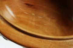 Hand Carved Walnut Covered Box by Guglielmo Pecorini - 775457