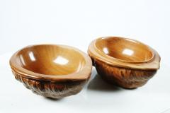 Hand Carved Walnut Covered Box by Guglielmo Pecorini - 775459