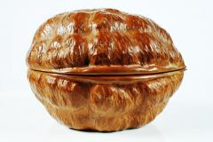 Hand Carved Walnut Covered Box by Guglielmo Pecorini - 775462
