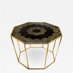 Hand Painted Gold Leaf Table - 972811