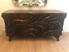 Hand carved Studio Cabinet - 1122385