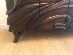 Hand carved Studio Cabinet - 1122386