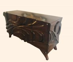 Hand carved Studio Cabinet - 1122387