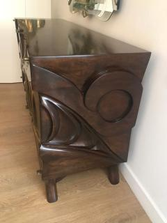 Hand carved Studio Cabinet - 1122389