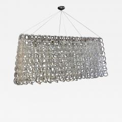 Handblown Linked Glass Chandelier - 337950
