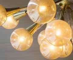 Handcrafted Murano Glass Half Sputnik Chandelier - 1487774