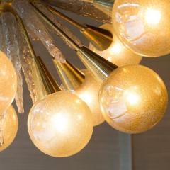 Handcrafted Murano Glass Half Sputnik Chandelier - 1487775