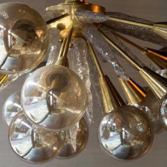 Handcrafted Murano Glass Half Sputnik Chandelier - 1487781