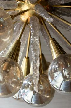 Handcrafted Murano Glass Half Sputnik Chandelier - 1487786