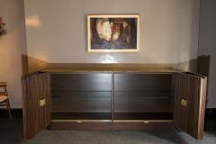 Handcrafted Sideboard in Oak Bronze Glass Italy 2020 - 1822258