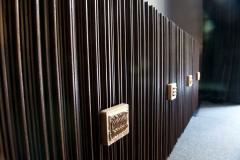Handcrafted Sideboard in Oak Bronze Glass Italy 2020 - 1822305