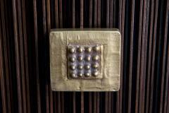 Handcrafted Sideboard in Oak Bronze Glass Italy 2020 - 1822390