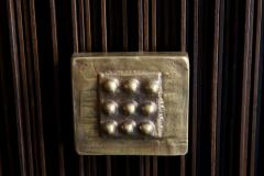 Handcrafted Sideboard in Oak Bronze Glass Italy 2020 - 1822430