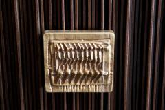Handcrafted Sideboard in Oak Bronze Glass Italy 2020 - 1822456