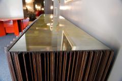 Handcrafted Sideboard in Oak Bronze Glass Italy 2020 - 1822523
