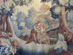 Handmade Antique Flemish Tapestry Wall Hanging 1880 - 1832048