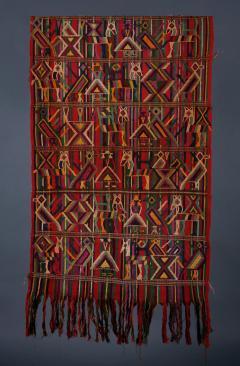 Handmade HUIPIL Textile Guatemalan ca 1950 - 870175