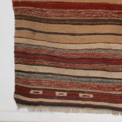 Handmade Woven Wool Tapestry Rug Rich Bohemian Sea of Color 1970s - 1680169