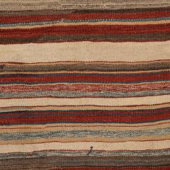 Handmade Woven Wool Tapestry Rug Rich Bohemian Sea of Color 1970s - 1680171