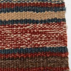 Handmade Woven Wool Tapestry Rug Rich Bohemian Sea of Color 1970s - 1680173