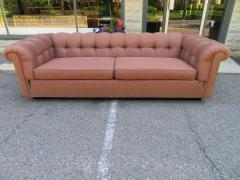 Handsome Mid Century Modern Dunbar Style Chesterfield Tufted Party Sofa - 1612942