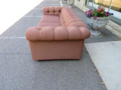 Handsome Mid Century Modern Dunbar Style Chesterfield Tufted Party Sofa - 1612943