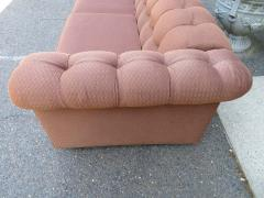 Handsome Mid Century Modern Dunbar Style Chesterfield Tufted Party Sofa - 1612944