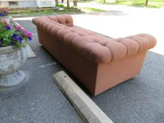 Handsome Mid Century Modern Dunbar Style Chesterfield Tufted Party Sofa - 1612945
