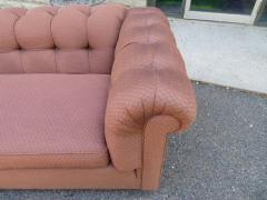Handsome Mid Century Modern Dunbar Style Chesterfield Tufted Party Sofa - 1612946