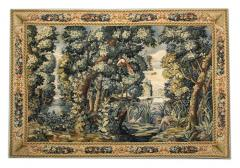 Handwoven Vintage Chinese Tapestry French Style Needlepoint Wall Hanging - 1832054