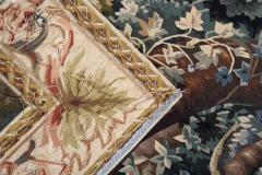 Handwoven Vintage Chinese Tapestry French Style Needlepoint Wall Hanging - 1832070