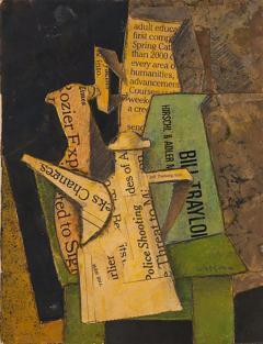 Hank Henry P Virgona Hank Virgona Mixed Media Artwork - 1109502
