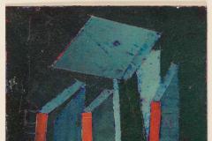 Hank Virgona Mixed Media Artwork - 1256604