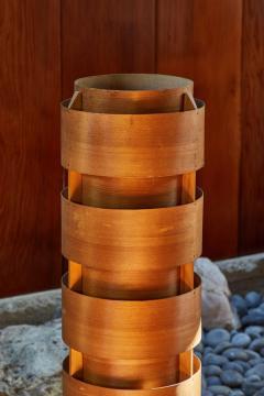 Hans Agne Jakobsson 1960s Hans Agne Jakobsson Wood Tripod Floor Lamp for AB Ellysett - 1167533