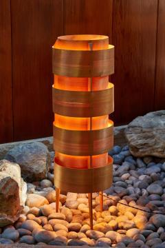 Hans Agne Jakobsson 1960s Hans Agne Jakobsson Wood Tripod Floor Lamp for AB Ellysett - 1167534
