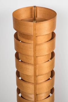 Hans Agne Jakobsson 1960s Hans Agne Jakobsson Wood Tripod Floor Lamps for AB Ellysett - 1189844