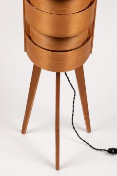 Hans Agne Jakobsson 1960s Hans Agne Jakobsson Wood Tripod Floor Lamps for AB Ellysett - 1189851