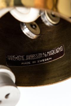 Hans Agne Jakobsson Ceiling Lamp Model T 608 Produced by Hans Agne Jakobsson AB - 1848077