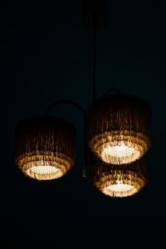 Hans Agne Jakobsson Ceiling Lamp Model T 608 Produced by Hans Agne Jakobsson AB - 1848078