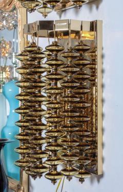 Hans Agne Jakobsson Hans Agne Jakobsson Amber Glass Strand Sconces - 880727