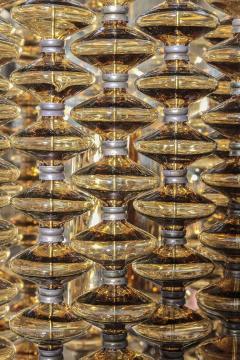 Hans Agne Jakobsson Hans Agne Jakobsson Amber Glass Strand Sconces - 880729