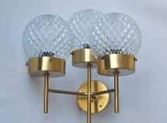 Hans Agne Jakobsson Large and Rare Pair of Wall Lights by Hans Agne Jakobsson - 1089926