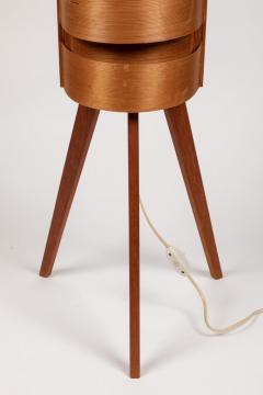 Hans Agne Jakobsson Pair of 1960s Hans Agne Jakobsson Wood Tripod Floor Lamps for AB Ellysett - 1181371