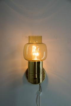 Hans Agne Jakobsson Pair of Wall Lamps by Hans Agne Jakobsson 1970s - 2097393