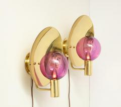 Hans Agne Jakobsson Pair of Wall Sconces V 180 by Hans Agne Jakobsson - 1846472