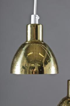 Hans Agne Jakobsson Small Pendants Flora in Perforated Brass by Hans Agne Jakobsson - 898530
